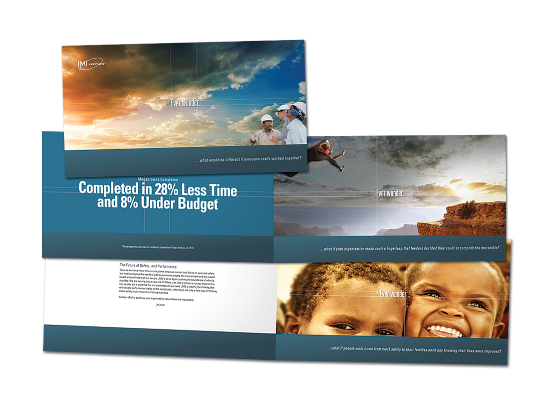 Brochure design for JMJ Associates
