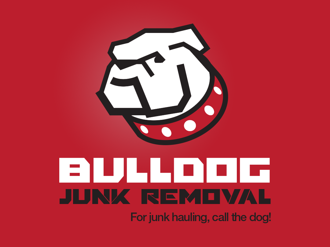 Logo design for Bulldog Junk Removal
