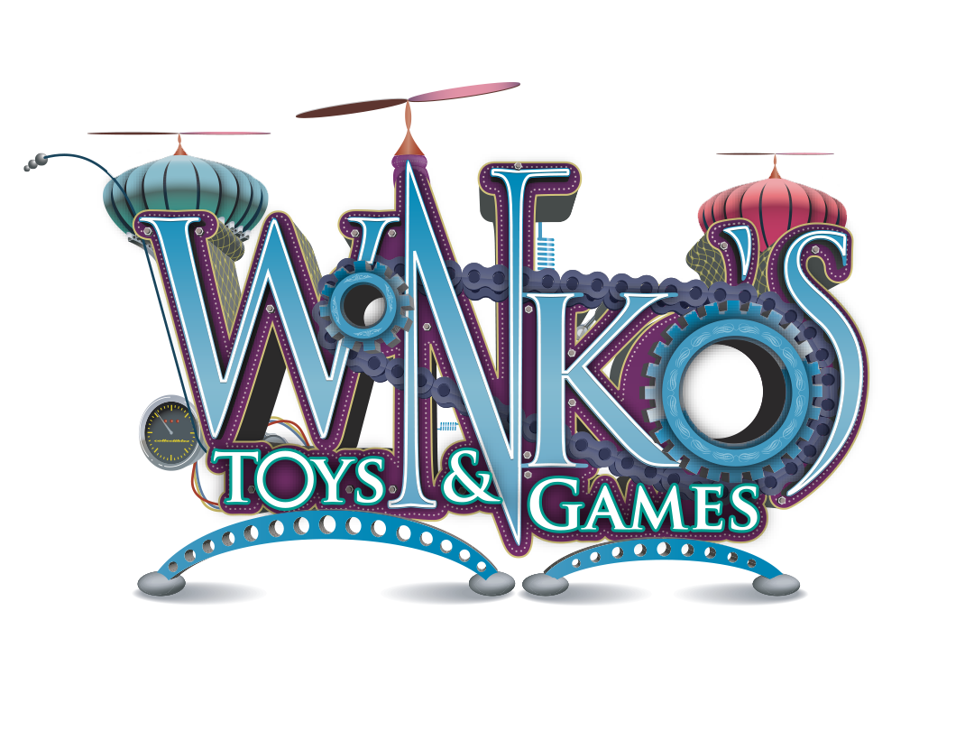 Logo for Wonko's Toys and Games