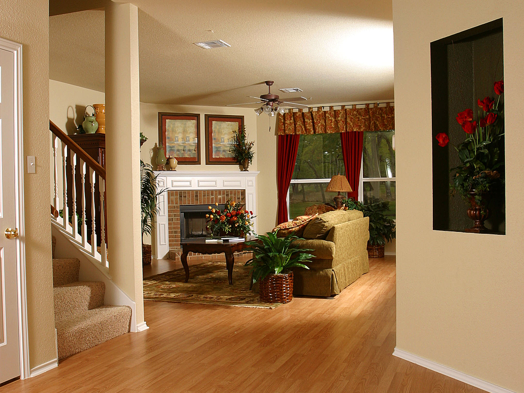 Photography, Centex Homes foyer