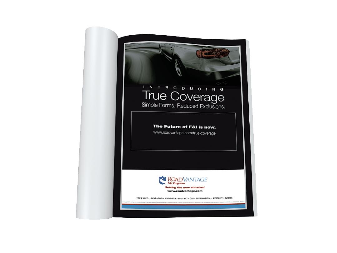 Ad design for RoadVantage